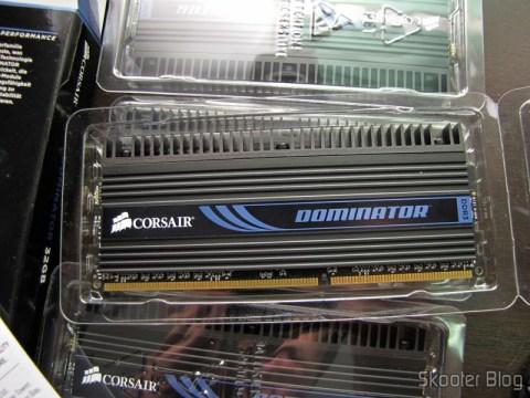 Módulos de memória Corsair Dominator 32GB (8GBx4) DDR3 PC3-12800 240-pin CMP32GX3M4X1600C10