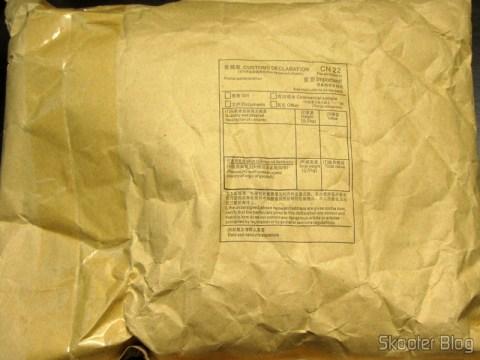 DailyShop package with Pants Men's Casual Cotton Saruel with Pockets (Cotton Casual Solid Pocket Men Harem Pants - Formulário CN22 em branco