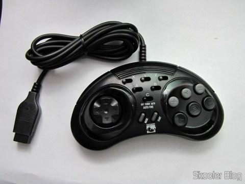 Controlador de 6 Botões ASCII 'Rhino' para Mega Drive (Mega Drive ASCII 'Rhino' 6 button controller)