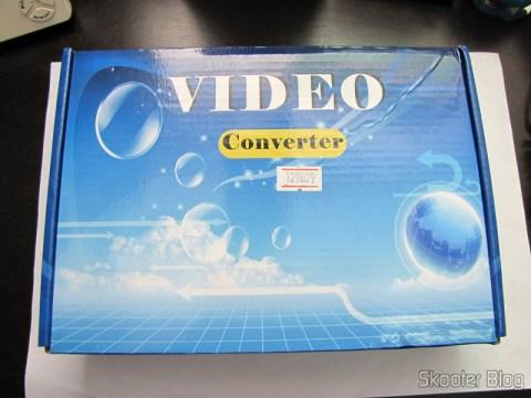 Conversor de Video de SCART + HDMI para HDMI (SCART + HDMI to HDMI Video Converter – Black) em sua caixa