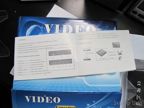 Manual do Conversor de Video de SCART + HDMI para HDMI (SCART + HDMI to HDMI Video Converter – Black)