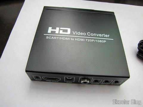 Conversor de Video de SCART + HDMI para HDMI (SCART + HDMI to HDMI Video Converter – Black)