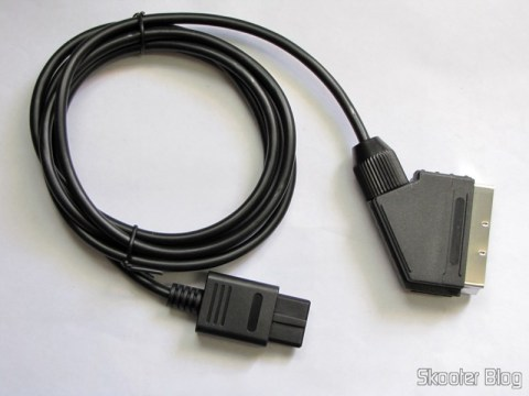 RGB SCART Cable for Super Nintendo (SNES), Super Famicom, Gamecube and Nintendo 64 (RGB Cable)