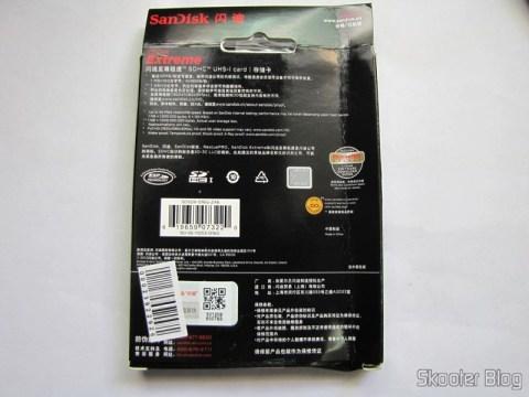 Cartão de Memória de Alta Velocidade SDHC 300X Sandisk Extreme Genuíno 16GB Classe 10 (Genuine SanDisk Extreme SDHC 300X High-Speed Memory Card (16GB / Class 10)), em sua embalagem