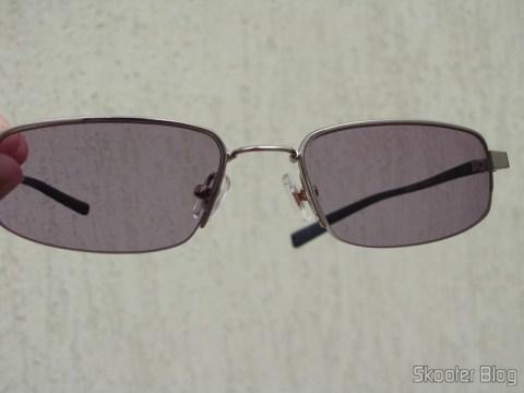 Óculos de grau Nike Flexon 4182 045 com lentes Essilor Transitions 1.67