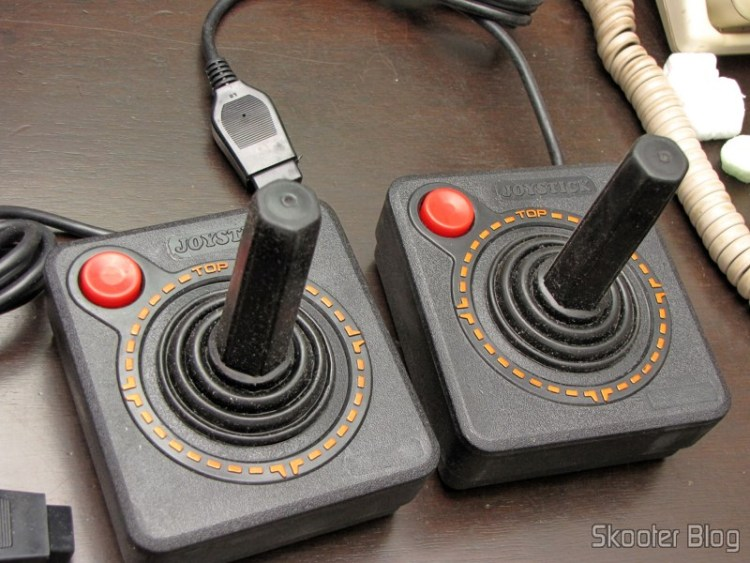 Joysticks the Atari 2600 New (New 2x Atari 2600 Joystick Controllers / 30 day Warranty OEM)