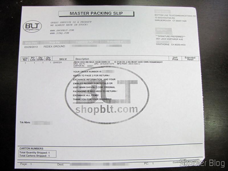 Bottom Line Telecommunications via Shipito: Zotac ZBOX ID83