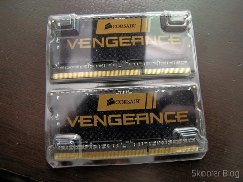 Memória de Laptop Corsair Vengeance 16GB (2x8GB) DDR3 1600MHz (Corsair Vengeance 16GB (2x8GB) DDR3 1600 MHz (PC3 12800) Laptop Memory (CMSX16GX3M2A1600C10))