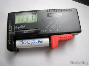 "Tester Digital Load Cells / Batteries with LCD 3.5 "" (3.5″ LCD Digital Battery Power Level Tester), operation"