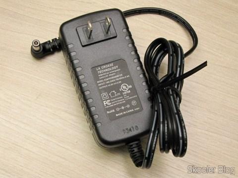 Fonte de alimentação do Carregador de Pilhas La Crosse Technoly Alpha Power BC1000 (La Crosse Technology Alpha Power Battery Charger, BC1000)
