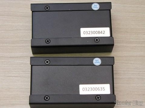Transmissor e Receptor do Conjunto Transmissor + Receptor Extensor de HDMI LINK-MI LM-EX11 (LINK-MI LM-EX11 HDMI Extender Transmitter + Receiver Set - Black)