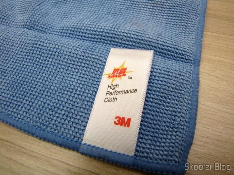Detail Cleaning Fabric Label Hi-Tech Gadgets for 3M Scotch Brite (3M Scotch Brite Hi-Tech Cleaning Cloth for Gadgets (Random Color))