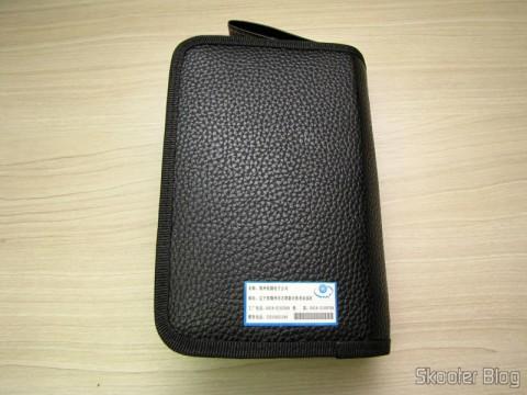 Mini Furadeira / Amolador Elétrico WLXY WL-800 (WLXY WL-800 Electric Drill / Grinder Set) em sua bolsa/estojo