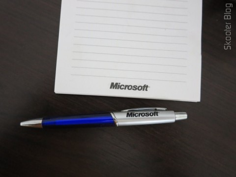 Block and Microsoft Pen