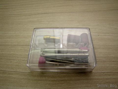 Acessórios do Mini Grinder Pro'sKit PT-5201A (110 In)