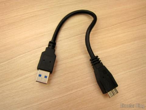 Cabo do Leitor de Cartões SD, Micro SD / TF / MS / CF SSK SCRM059 USB 3.0 Alta Velocidade 5Gbps (SSK SCRM059 High Speed 5Gbps USB 3.0 SD, Micro SD / TF / MS / CF Card Reader - Black (64GB))