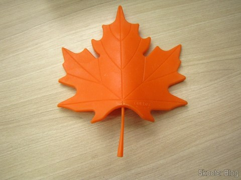 Para-Porta Estilo Folha de Maple Laranja (Maple Leaf Style Door Stopper Guard – Orange)