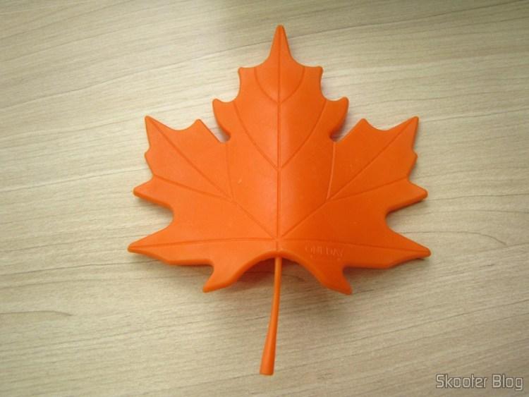 To-Door Style Maple Leaf Orange (Maple Leaf Style Door Stopper Guard – Orange)