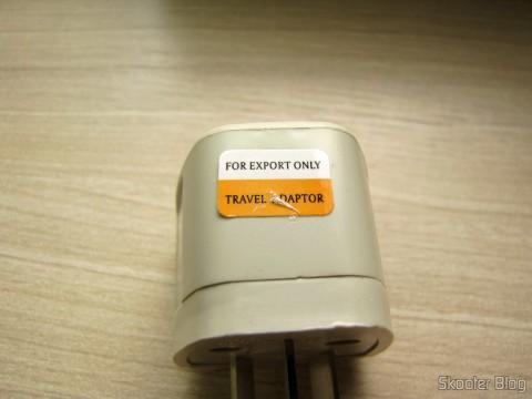 Adaptador que veio de brinde com o Roteador ASUS RT-AC68U Dual Band Gigabit Router 802.11ac Wireless-AC1900