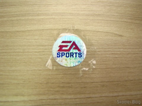 Holographic peck of Electronic Arts in plastic packing the FIFA 14 (PS4) (US)