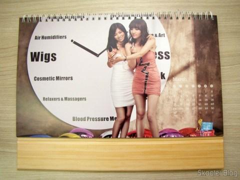 Calendário de Mesa da DX 2014 com Cupons de Desconto nos 12 meses, totalizando US$ 237,00 (DX 2014 Desk Calendar with 12 Months' Coupon Codes (Value USD$ 200)): Mês de Março