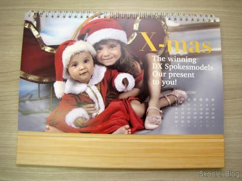 Calendário de Mesa da DX 2014 com Cupons de Desconto nos 12 meses, totalizando US$ 237,00 (DX 2014 Desk Calendar with 12 Months' Coupon Codes (Value USD$ 200)): Mês de Dezembro