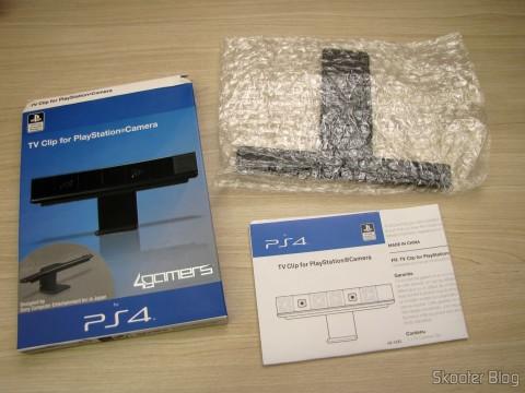 Desembalando o Clip para a Câmera do Playstation 4 (PS4) Oficial Licenciado 4Gamers (Officially Licensed Clip for Playstation 4 Camera (PS4) (4GAMERS))