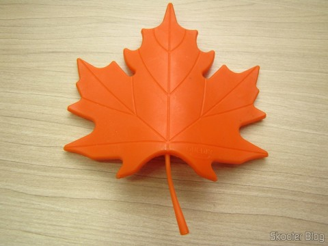 Para-Portas Estilo Folha de Maple Laranja (Maple Leaf Style Door Stopper Guard - Orange)