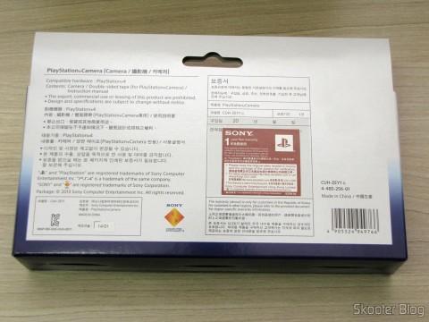 Embalagem da Câmera do Playstation 4 (Playstation 4 Camera)