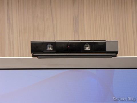 Câmera do Playstation 4 (Playstation 4 Camera), em funcionamento