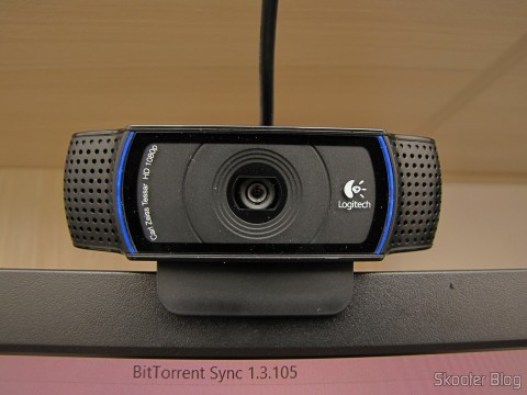 Logitech HD Pro Webcam C920, 1080p Widescreen Video Calling and Recording, operation