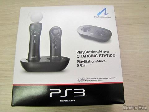 Playstation Move Charging Station, em sua embalagem