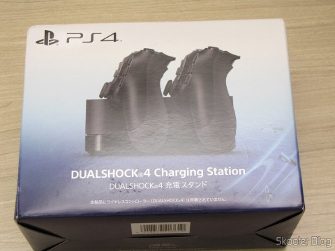 Official Dualshock 4 Charging Station (PS4) (SONY), on its packaging