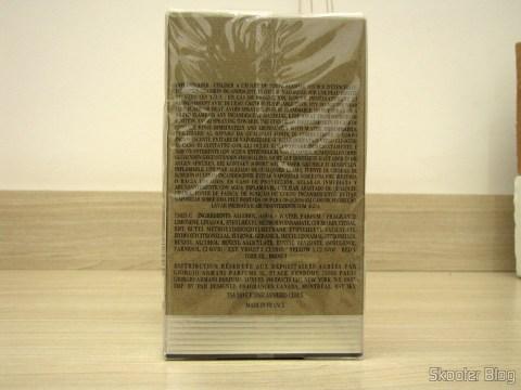 Armani de Giorgio Armani EDT de 100ml, on its packaging