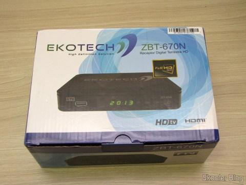 Ekotech ZBT-470N, em sua embalagem