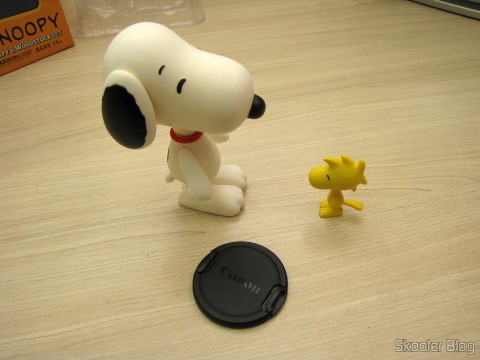 Action Figures of Snoopy & Woodstock