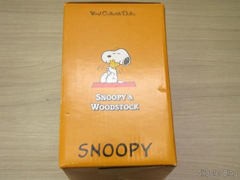 Embalagem dos Action Figures de Snoopy & Woodstock
