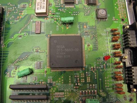 Mega Drive III da Tec Toy, com PCB VA0: SEGA 315-5660-02 FC1004 9320 ECIM