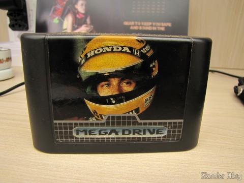 Cartucho Ayrton Senna's Super Monaco GP II