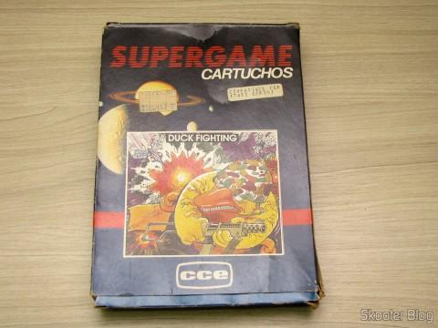 Caixa do Cartucho Duck Fighting de Atari 2600