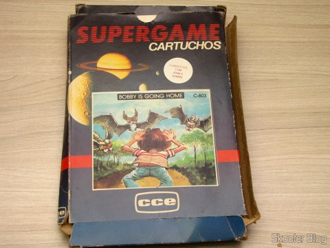 Caixa do Cartucho Bobby is Going Home do Atari 2600