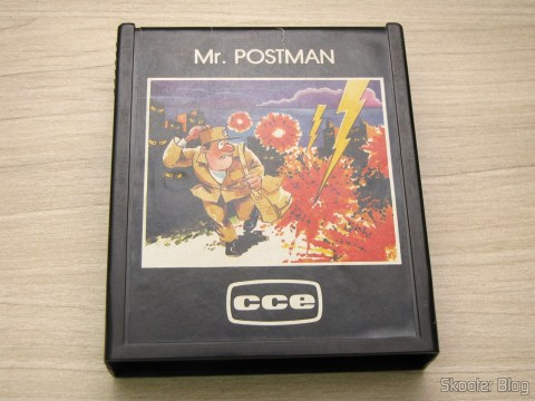 Cartucho Mr. Postman do Atari 2600 - CCE