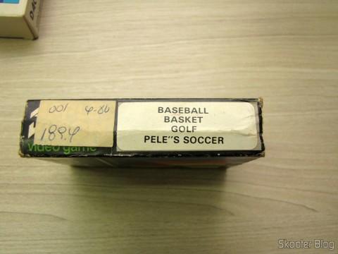 Caixa de Cartucho de 4 Jogos Dactar com Baseball, Basket, Golf e Pele's Soccer