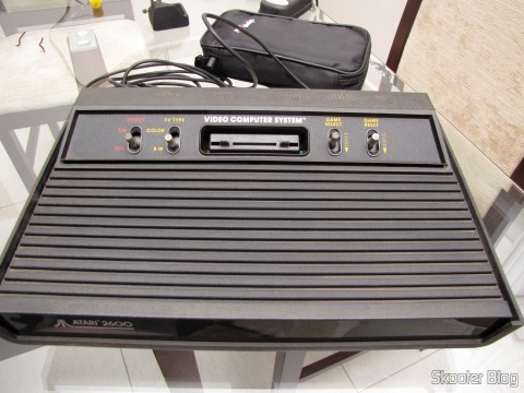 The Atari 2600, ready for use