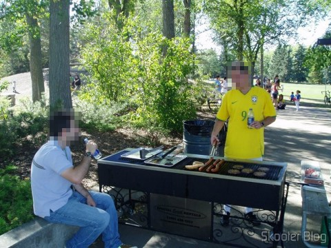 Even the Brazilians in Canada end up making barbecue in the Canadian style