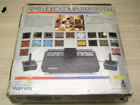 Box of Atari 2600 the Polyvox