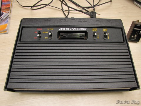 Atari 2600, after standard cleaning quality Skooter