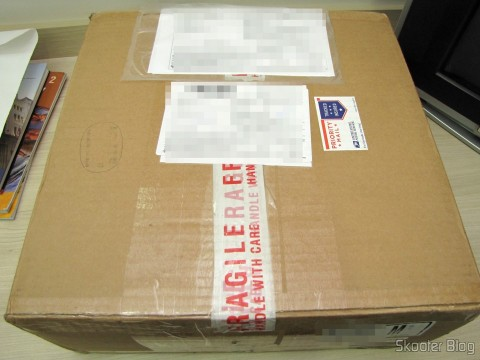 Package with the Sega Genesis