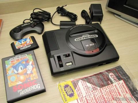 Sega Genesis e seus acessórios