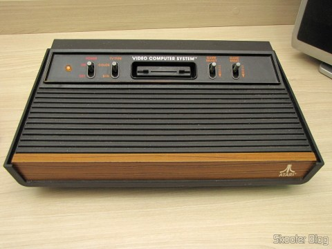 The Atari VCS / 2600 with S-Video mods, Composite Video, Stereo Audio and Pause